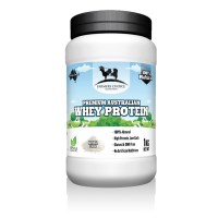 Farmers Choice 100% Natural Whey Protein Concentrate - 1kg - 33 Serves